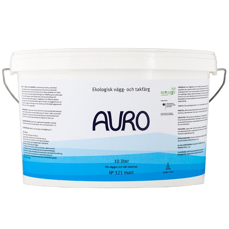 Väggfärg 321 Vit – 10 lit från Auro