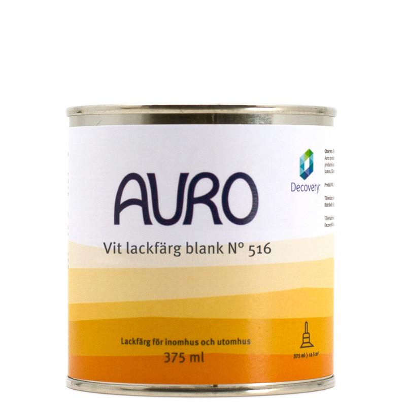 Lackfärg Vit Blank 516 - 375 ml från Auro