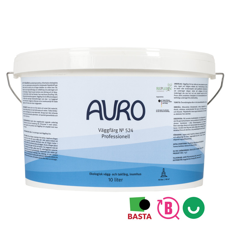 Plantodecor Premium Väggfärg 524 - 10 lit från Auro
