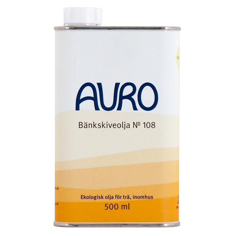 Bänkskiveolja 108 - 500 ml från Auro