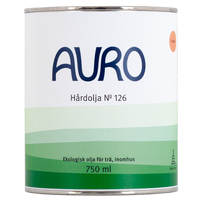Hårdolja 126 - 375 ml från Auro